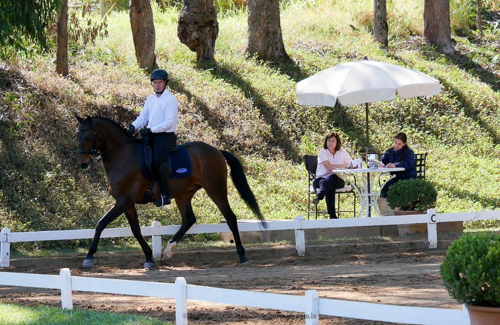 Ímpio Interagro & Alexandre Souza, 1st place Third Level at the 2nd phase of 2019 Interagro Dressage Ranking/Interagro Lusitanos
