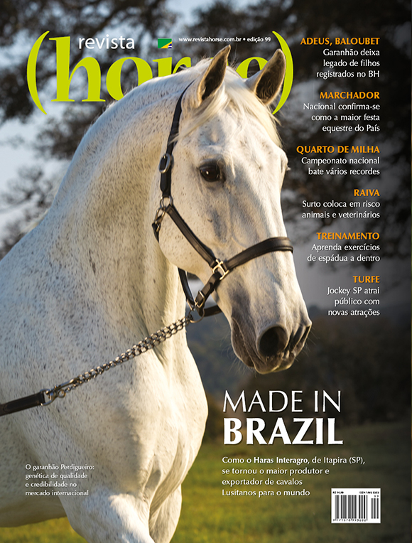 Perdigueiro MAC) photographed by TUPA in the cover of Horse Magazine