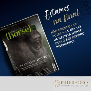 Esparteiro Interagro, and reached the finals with the cover of Edition 123, following in the footsteps of his sire Perdigueiro (MAC), the cover of Edition 99