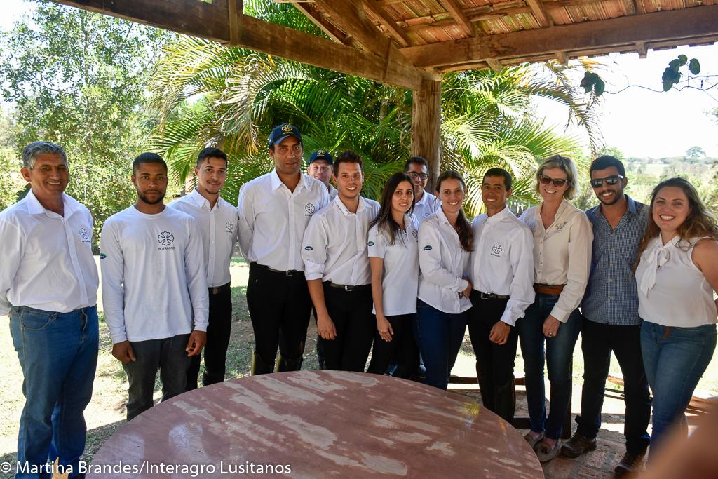 Interagro's team at the 3rd phase of 2019 Interagro Dressage Ranking judged by Mrs. Natacha Waddell (October 5th). Photo: Martina Brandes